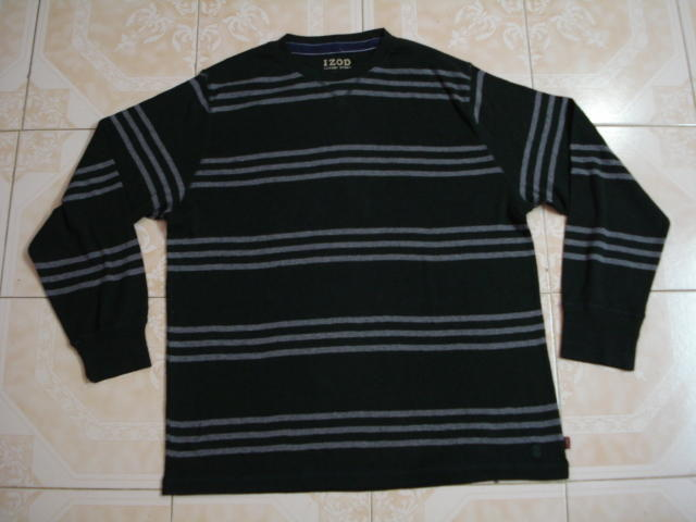e0ca3f5948 IZOD MENS F/S R/N STRIPES T-SHIRT